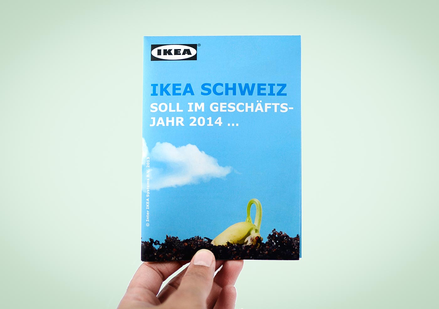 Flyer «Wachstum»  für IKEA